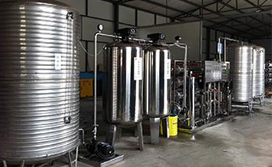 5吨/时全不锈钢纯水设备